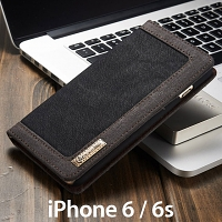 iPhone 6 / 6s Jeans Leather Wallet Case