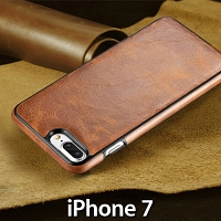 iPhone 7 Ultrathin Calfskin Leather Back Case