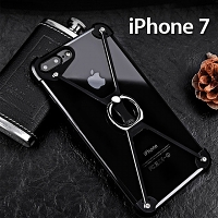 iPhone 7 Metal X Bumper Case with Finger Ring