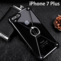 iPhone 7 Plus Metal X Bumper Case with Finger Ring