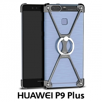 Huawei P9 Plus Metal X Bumper Case with Finger Ring