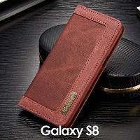 Samsung Galaxy S8 Jeans Leather Wallet Case