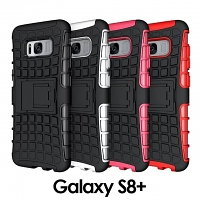 Samsung Galaxy S8+ Rugged Case with Stand