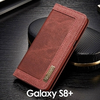 Samsung Galaxy S8+ Jeans Leather Wallet Case