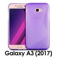 Samsung Galaxy A3 (2017) A3200 Wave Plastic Back Case