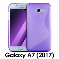 Samsung Galaxy A7 (2017) A7200 Wave Plastic Back Case