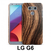 LG G6 Woody Patterned Back Case