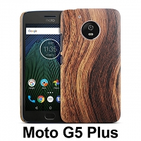 Motorola Moto G5 Plus Woody Patterned Back Case