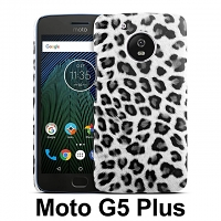 Motorola Moto G5 Plus Leopard Stripe Back Case