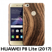 Huawei P8 Lite (2017) Woody Patterned Back Case