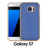 Samsung Galaxy S7 Jeans Soft Back Case