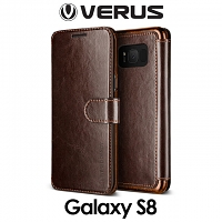 Verus Dandy Layered Leather Case for Samsung Galaxy S8