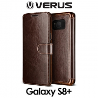 Verus Dandy Layered Leather Case for Samsung Galaxy S8+
