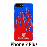 iPhone 7 Plus Transformers Autobots Flames Back Case
