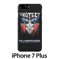iPhone 7 Plus Transformers Optimus Prime Head Back Case
