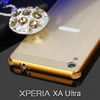Sony Xperia XA Ultra Metallic Bumper Back Case