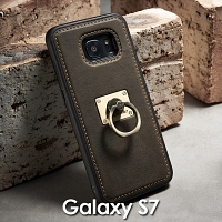 Samsung Galaxy S7 Detachable Finger Ring Back Case