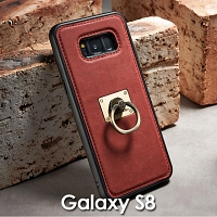 Samsung Galaxy S8 Detachable Finger Ring Back Case