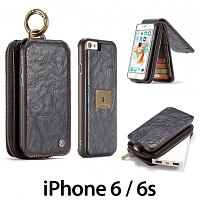 iPhone 6 / 6s Coarse Crack Wallet Flip Leather Case