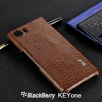 Imak Crocodile Leather Back Case for BlackBerry KEYone