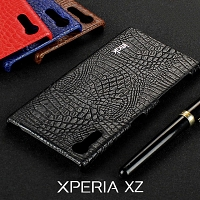 Imak Crocodile Leather Back Case for Sony Xperia XZ