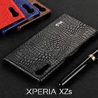 Imak Crocodile Leather Back Case for Sony Xperia XZs