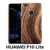 Huawei P10 Lite Woody Patterned Back Case