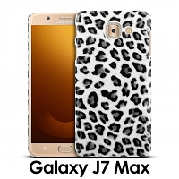 Samsung Galaxy J7 Max Leopard Stripe Back Case