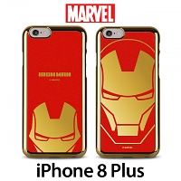 MARVEL Iron Man Mirror Art Back Case for iPhone 8 Plus
