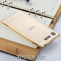 Sony Xperia XZ1 Metallic Bumper Back Case