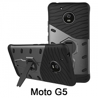 Motorola Moto G5 Armor Case with Stand