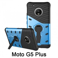 Motorola Moto G5 Plus Armor Case with Stand
