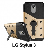 LG Stylus 3 Armor Case with Stand