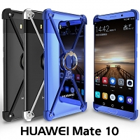 Huawei Mate 10 Metal X Bumper Case with Finger Ring