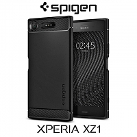 Spigen Rugged Armor Case for Sony Xperia XZ1
