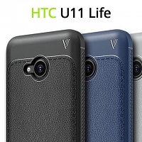 LENUO Gentry Series Leather Coated TPU Case for HTC U11 Life