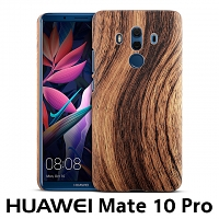 Huawei Mate 10 Pro Woody Patterned Back Case