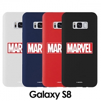 MARVEL Logo Slim Case for Samsung Galaxy S8