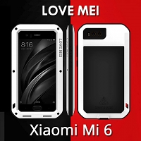 LOVE MEI Xiaomi Mi 6 Powerful Bumper Case