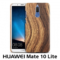 Huawei Mate 10 Lite Woody Patterned Back Case