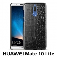Huawei Mate 10 Lite Crocodile Leather Back Case
