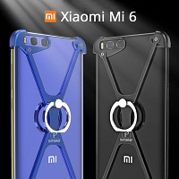 Xiaomi Mi 6 Metal X Bumper Case with Finger Ring