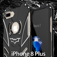 iPhone 8 Plus Bat Armor Metal Case