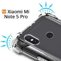 Imak Shockproof TPU Soft Case for Xiaomi Redmi Note 5 Pro