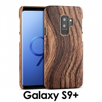 Samsung Galaxy S9+ Woody Patterned Back Case