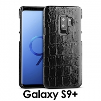 Samsung Galaxy S9+ Crocodile Leather Back Case