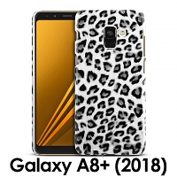 Samsung Galaxy A8+ (2018) Leopard Stripe Back Case