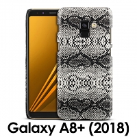 Samsung Galaxy A8+ (2018) Faux Snake Skin Back Case