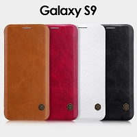 NILLKIN Qin Leather Case for Samsung Galaxy S9