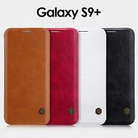 NILLKIN Qin Leather Case for Samsung Galaxy S9+